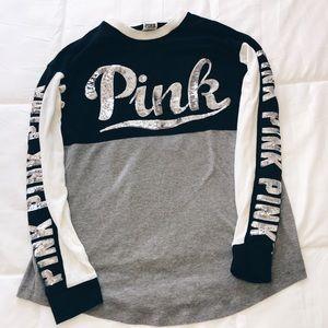 Long sleeve Victoria's Secret PINK crewneck